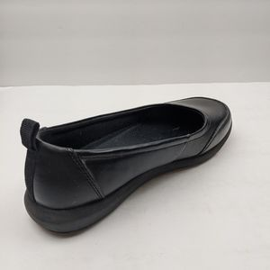 Emeril black ballet slip on shoes size 7W